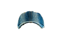 Sombrero viejo de la mezclilla fotos de archivo