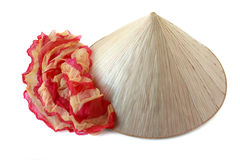 Sombrero y bufanda Foto de archivo