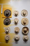 Sombreros colombinos Imágenes de archivo libres de regalías