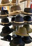 Sombreros de fieltro Imagen de archivo libre de regalías