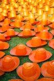 Sombreros de la armadura Fotos de archivo libres de regalías