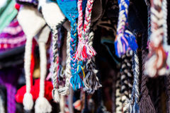 Sombreros de las lanas Fotos de archivo libres de regalías