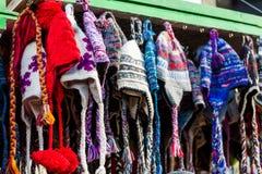 Sombreros de las lanas Imagenes de archivo