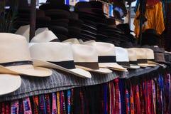 Sombreros de Panamá Fotos de archivo