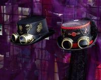 Sombreros de Steampunk Imagenes de archivo