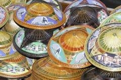 Sombreros de Tailandia Fotografía de archivo