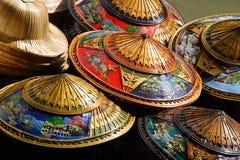 Sombreros de Tailandia Fotos de archivo libres de regalías