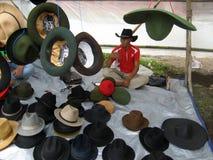 Sombreros de vaquero Imágenes de archivo libres de regalías