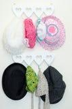 Sombreros del bebé fotografía de archivo libre de regalías
