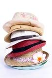 Sombreros del grupo Fotos de archivo