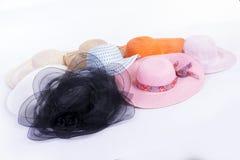 Sombreros del grupo Fotografía de archivo libre de regalías