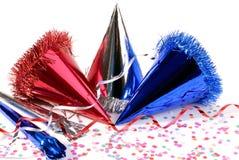 Sombreros del partido foto de archivo