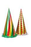 Sombreros del partido aislados Foto de archivo
