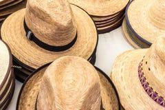Sombreros del verano Imágenes de archivo libres de regalías