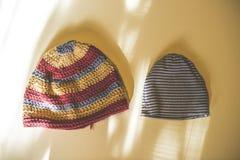 Sombreros grandes y pequeños Foto de archivo libre de regalías