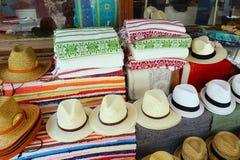 Sombreros para hombre fotografía de archivo libre de regalías