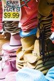 Sombreros para la venta Fotografía de archivo