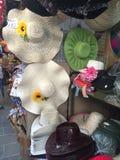 Sombreros para la venta Imagen de archivo libre de regalías