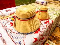 Sombreros rumanos tradicionales Fotografía de archivo