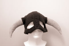 Sombreros Skyrim de las lanas de Viking Foto de archivo