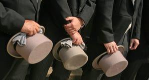 Sombreros superiores Fotos de archivo libres de regalías