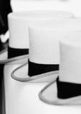 Sombreros superiores foto de archivo