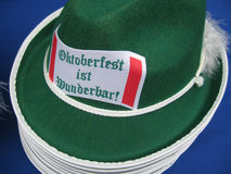 Sombreros wunderbar 2 de los ist de Oktberfest Imagen de archivo libre de regalías