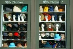 Sombreros y bolsos del verano Fotografía de archivo libre de regalías