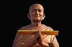 Somdej Toh statuy lokacja przy Wat larwy świątynią Obraz Royalty Free