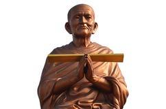 Somdej Toh statuy lokacja przy Wat larwy świątynią Zdjęcia Stock