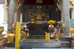 Somdet Phra Chao Taksin Maha Rat or the King of Thonburi statue Stock Photography
