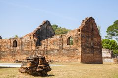 Old Town in thailand. Somdet Phra Narai National Museum in Lopburi, Thailand Stock Photo