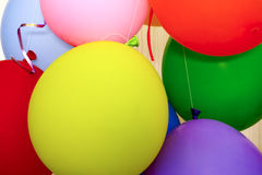 Some air balloons. Close up Royalty Free Stock Images
