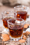 Some Amaretto Shots Royalty Free Stock Photography