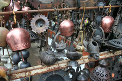 Some antique objects. At a souvenirs shop in Safranbolu, turkey stock photography