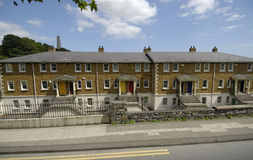 Some apartment flats. Typical apartment flats in Ireland Stock Photos