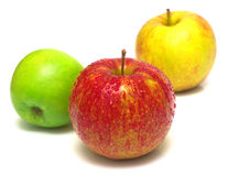 Some apples royalty free stock images