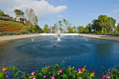 Some area of the Bhubing palace. Thailand stock photography