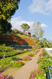 Some area of the Bhubing palace. Thailand stock image