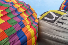Some balloon inflated close to each other Stock Images