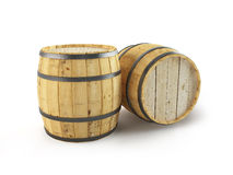 Some Barrels. Stock Photos