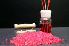 Some bath salts. For aromatherapy Stock Photo