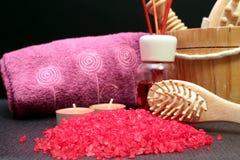 Some bath salts Stock Photography