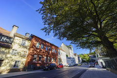 Some beautiful street view of Iserlohn downtown. Iserlohn, AUG 30: Some beautiful street view of Iserlohn downtown on AUG 30, 2016 at Iserlohn, Germany Stock Image