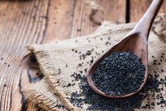 Some black Sesame Royalty Free Stock Images