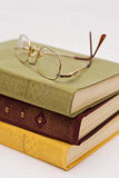 Some book and glasses Royalty Free Stock Photography