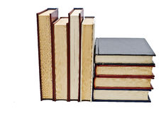 Some books to read. Some books isolated on a white background Stock Image