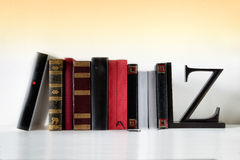 Some books  Royalty Free Stock Image