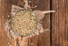 Some brown Lentils Royalty Free Stock Photography