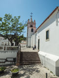 Some chapel in the city. A view of some chapel in the city near the Algarve coast in Portugal, 2016 Stock Photo